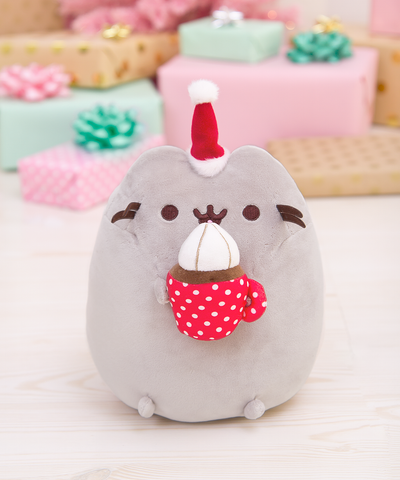 Hot Cocoa Pusheen plush toy