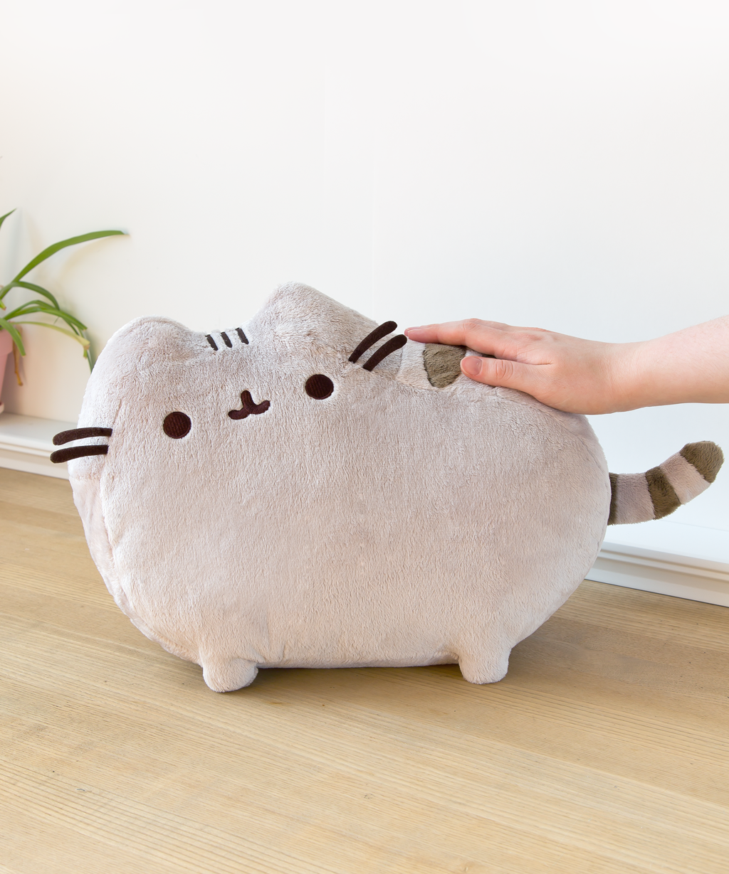 Large Pusheen Plush Toy Hey Chickadee