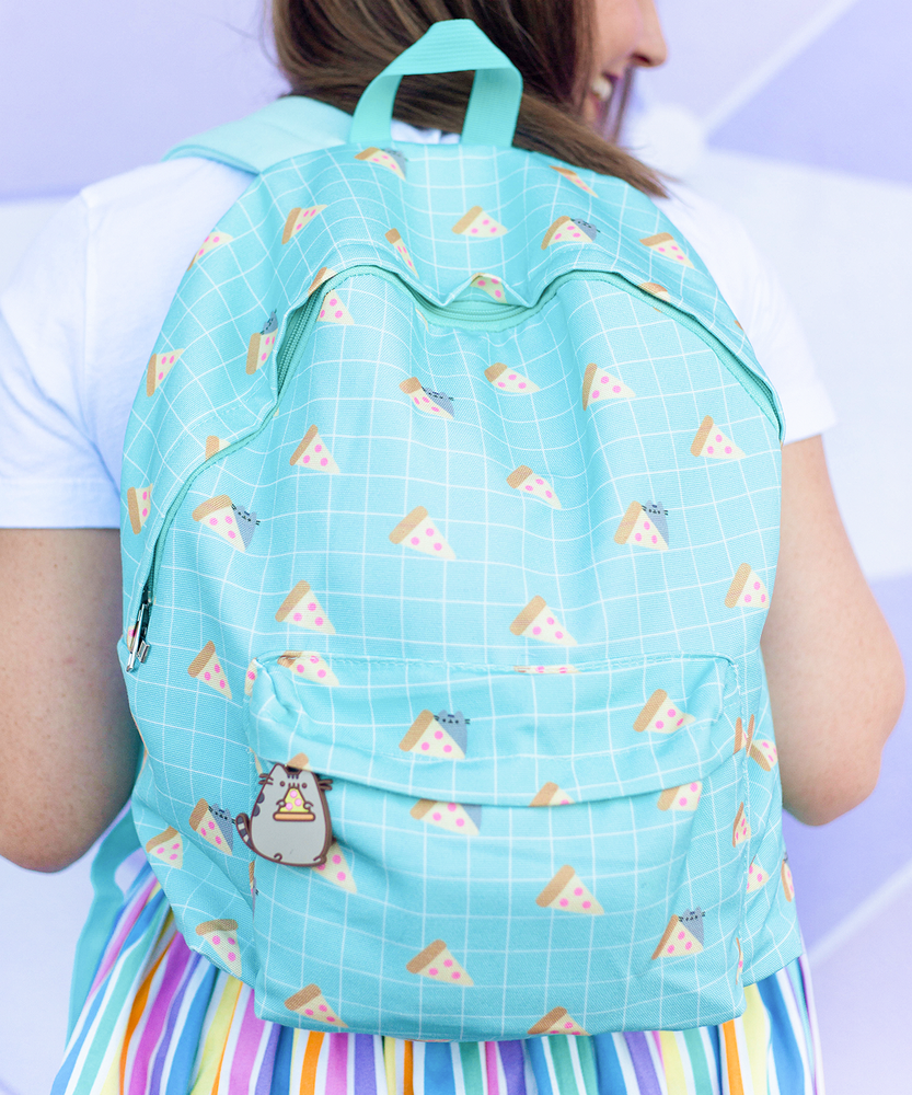 Pusheen Mint Pizza Backpack