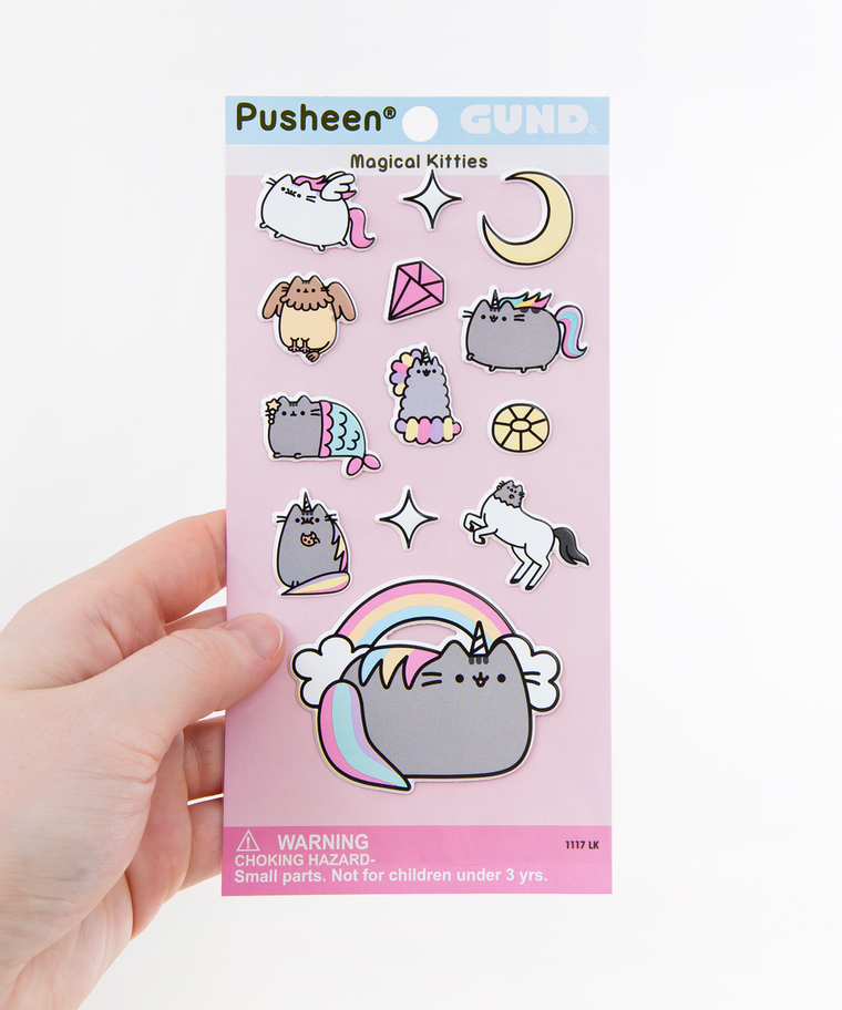 Magical Kitties Puffy Bubble Sticker Sheet