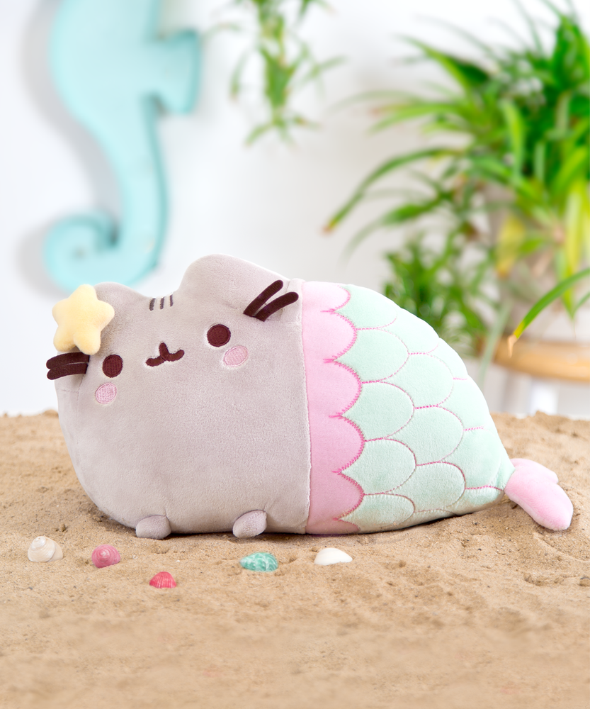 Mermaid Pusheen Plush