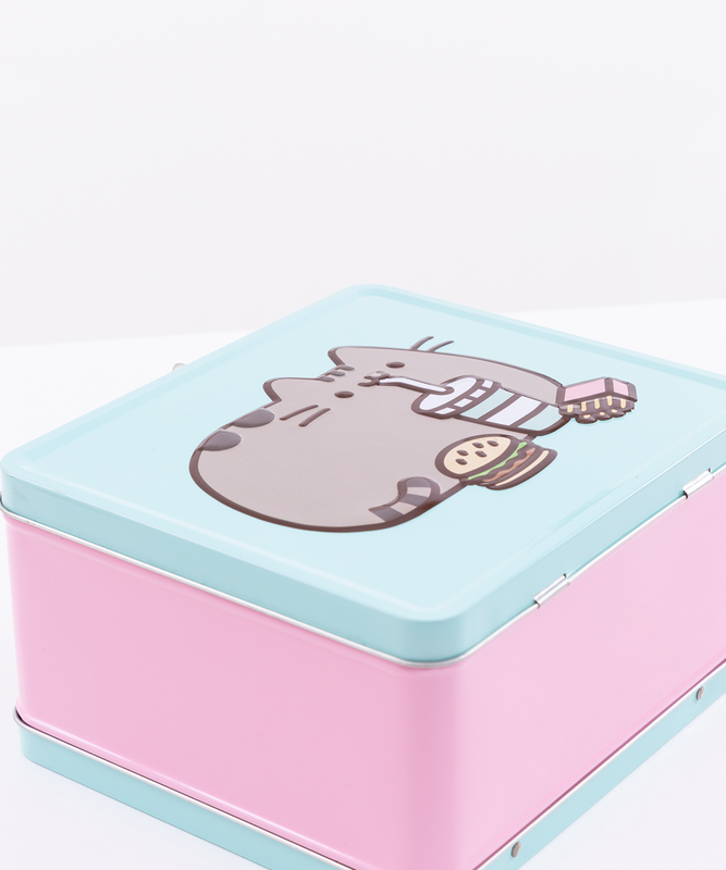 Metal Pusheen Lunch Box
