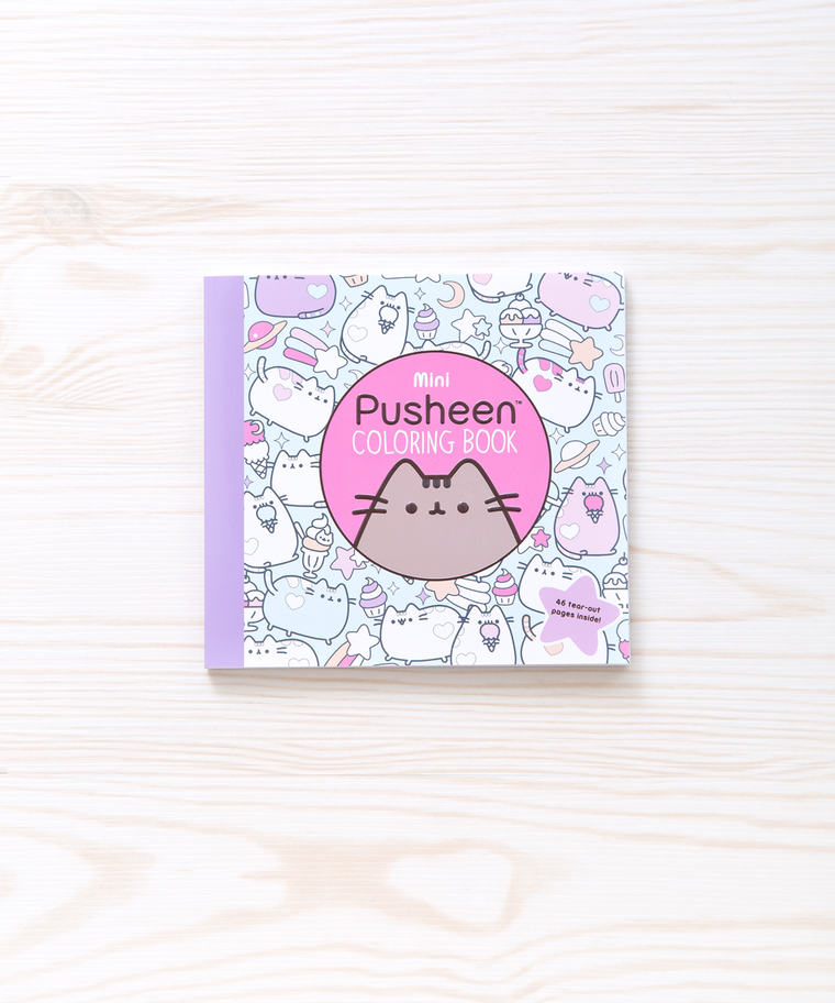 Mini Pusheen the Cat Coloring Book