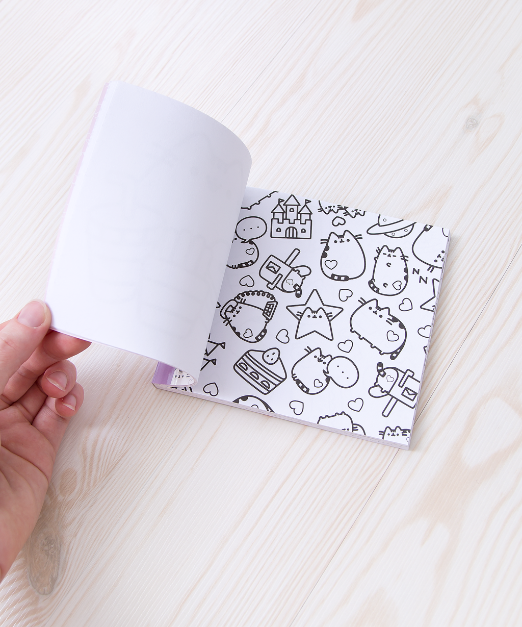 Mini Pusheen the Cat Coloring Book – Hey Chickadee
