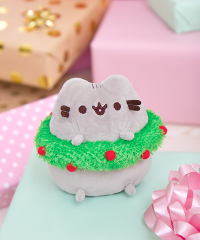 Mini Pusheen Christmas Wreath plush