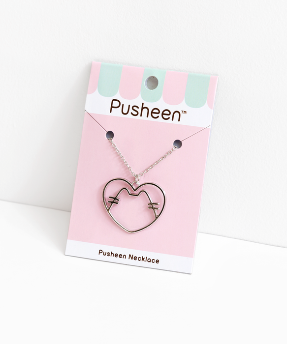 Pusheen Pendant Necklace