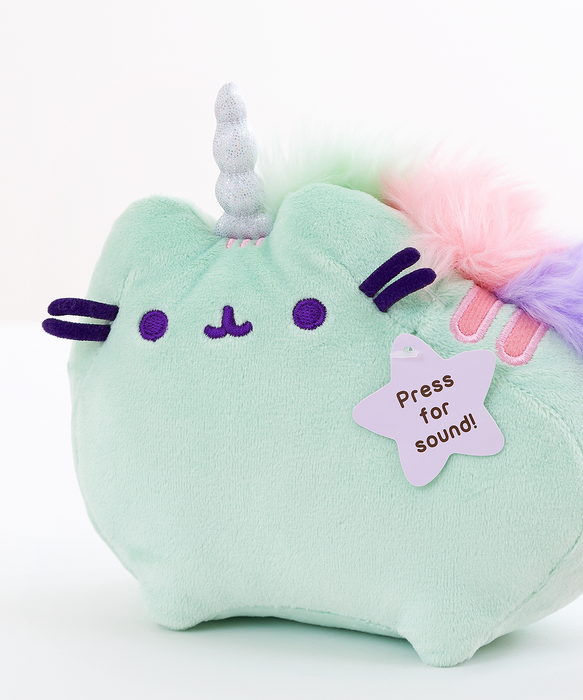 Mini Mint Pusheenicorn Musical Plush Toy