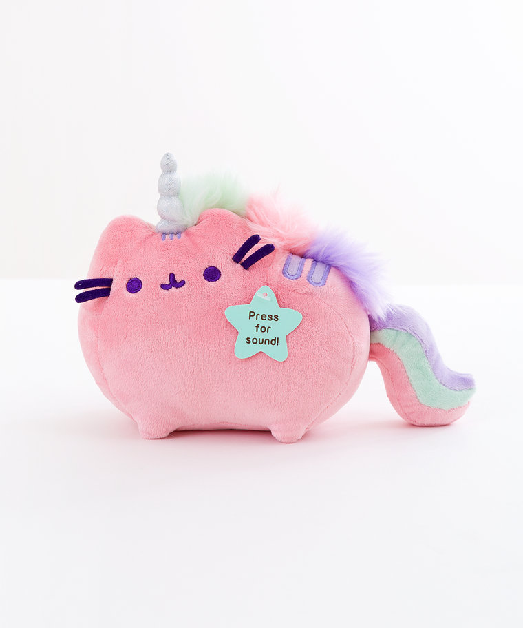 Mini Pink Pusheenicorn Musical Plush Toy