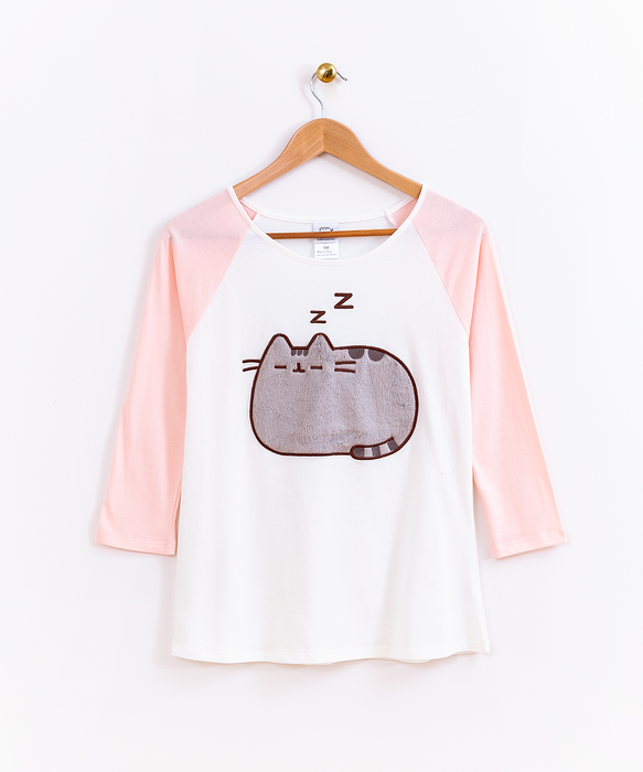 Pusheen Pink Pajama Top – Hey Chickadee 033f7e1bc