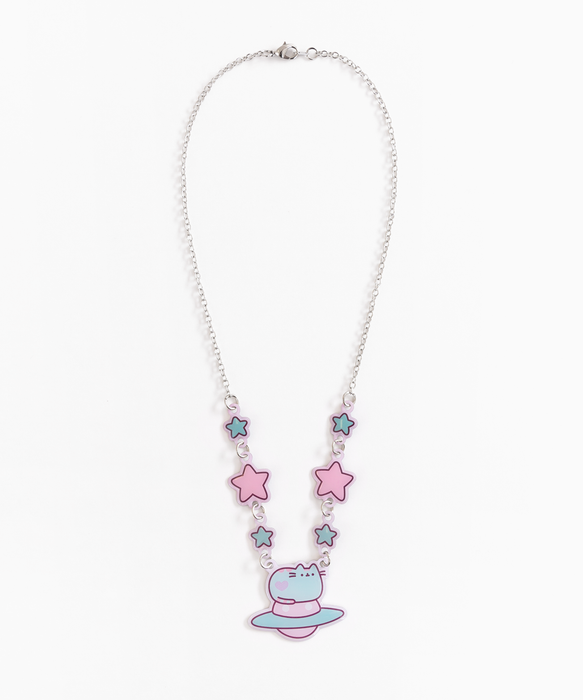 Pastel Pusheen Necklace