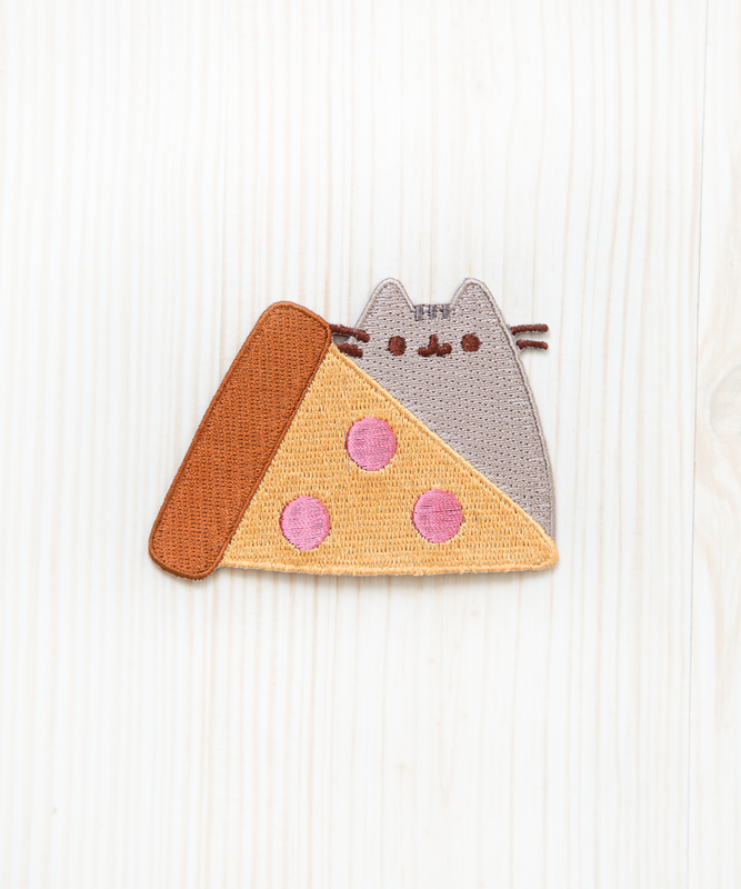 Pizza Pusheen Iron On Patch