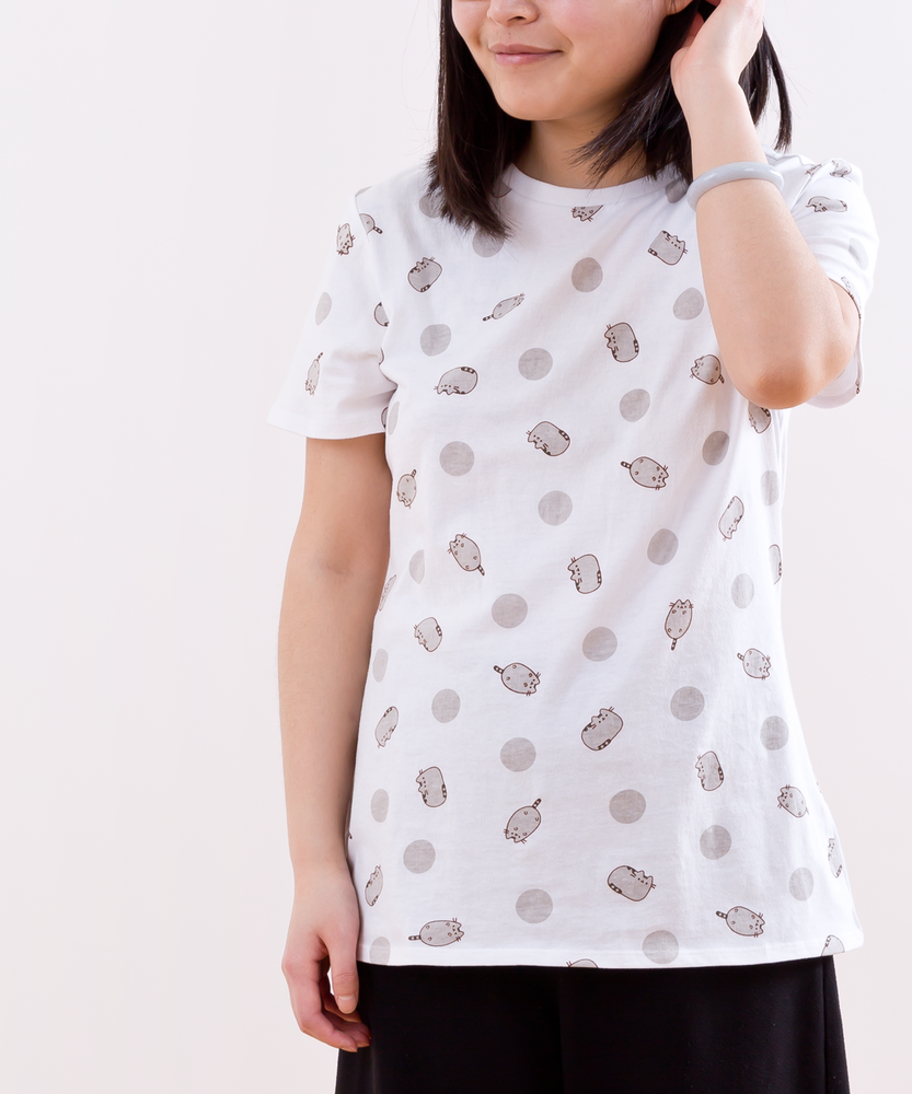 Pusheen Polka Dot Ladies Tee