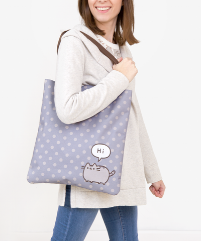 Pusheen Polka Dot tote bag