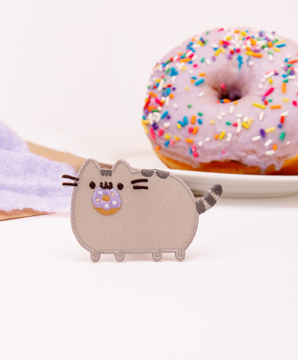 Donut Pusheen Iron-On Patch
