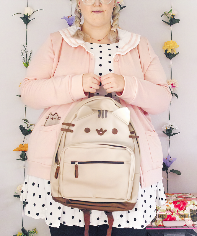 Pusheen Vegan Leather Backpack