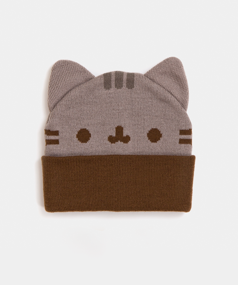 Pusheen Knitting Pattern : Pusheen cozy knit hat   Hey Chickadee