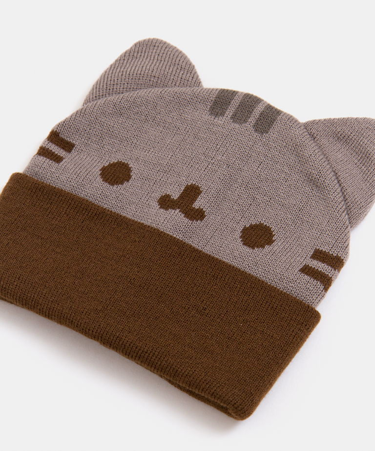 41e6d434e34 Pusheen Cozy Knit Hat  Pusheen Cozy Knit Hat ...
