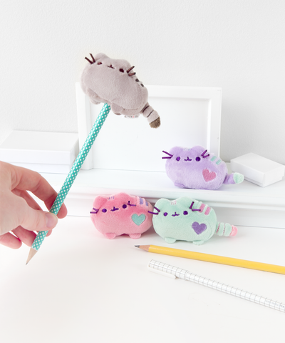 Pusheen plush pencil topper