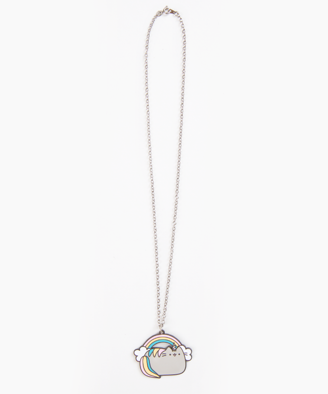 Rainbow Pusheenicorn Necklace