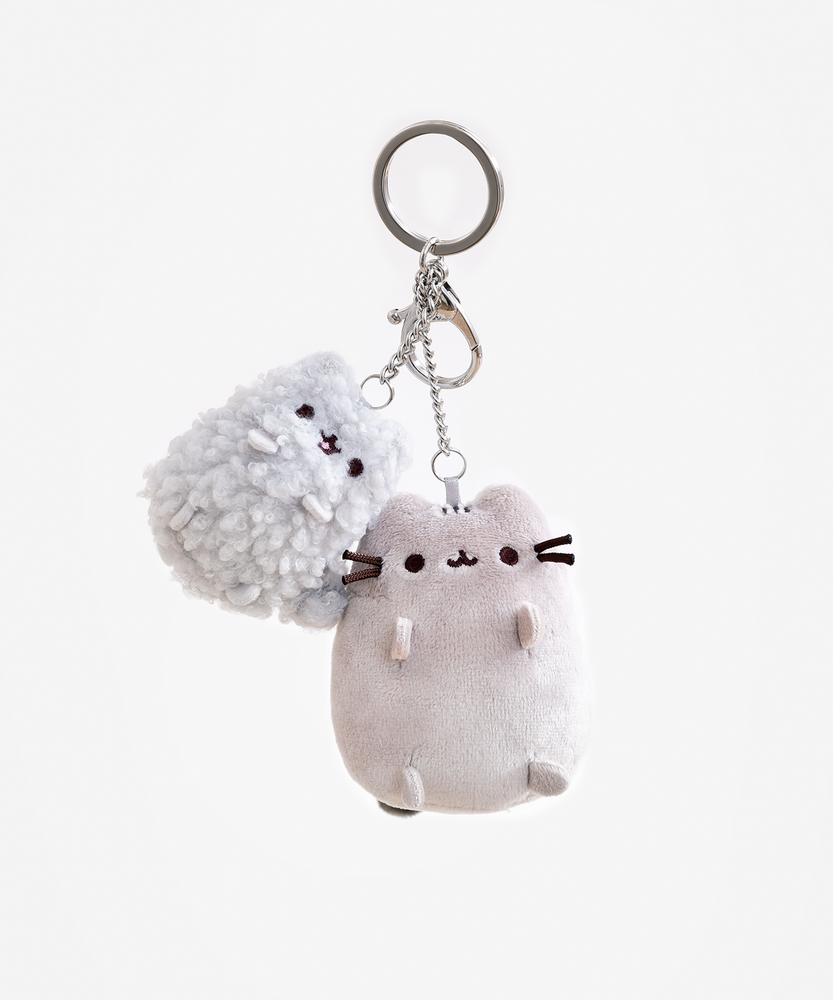 Pusheen and Stormy Plush Keychain