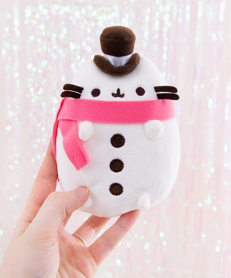 Mini Snowman Pusheen Plush