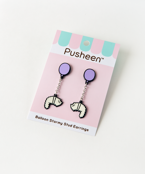 Balloon Stormy Stud Earrings