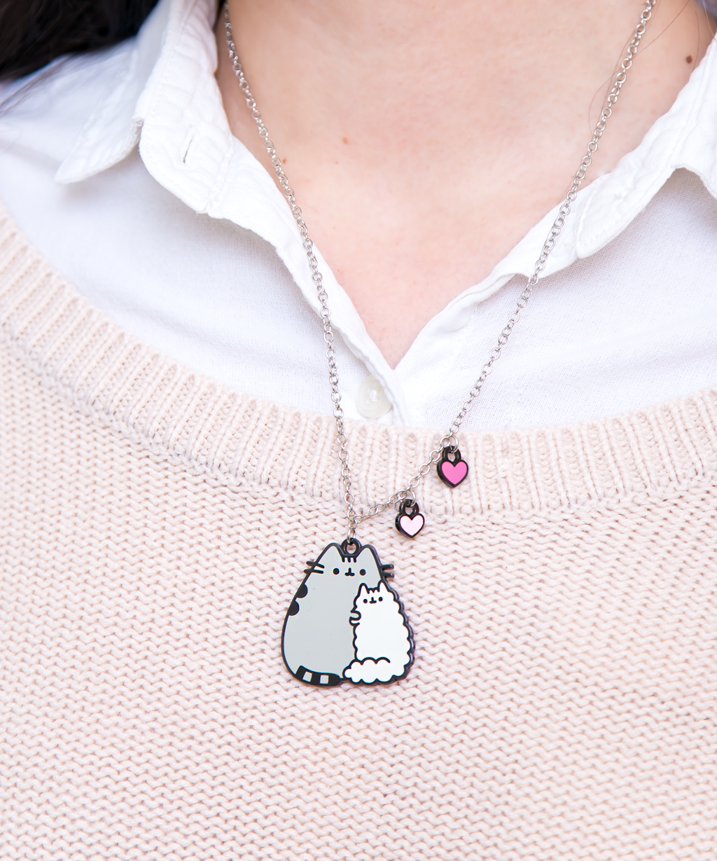 Pusheen and Stormy Necklace