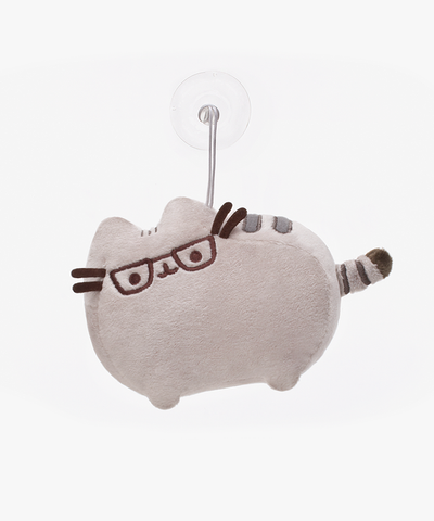 Pusheen suction cup plush