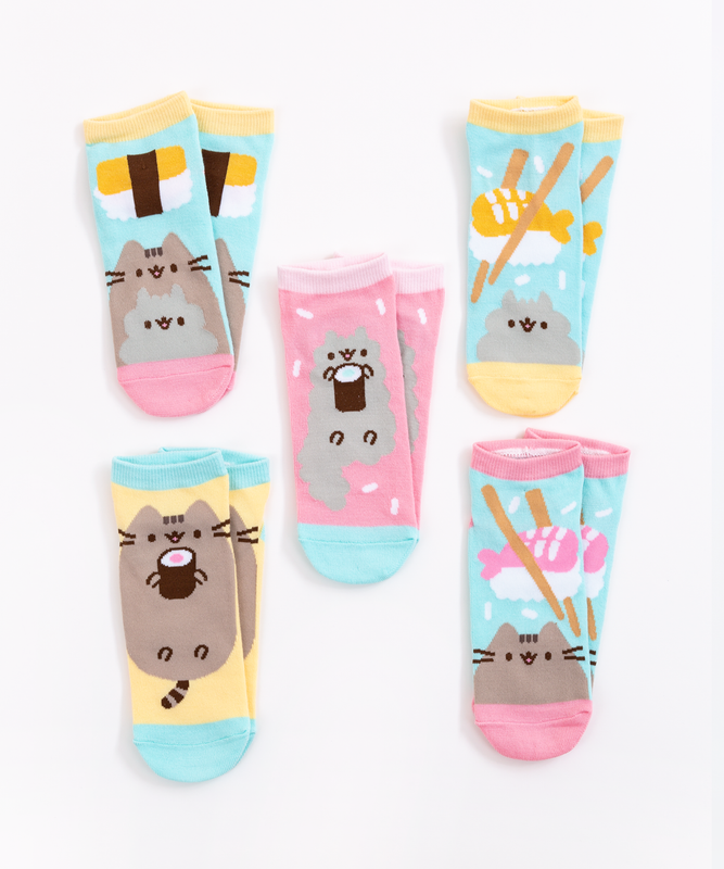 Sushi Pusheen 5-Pack Ankle Socks