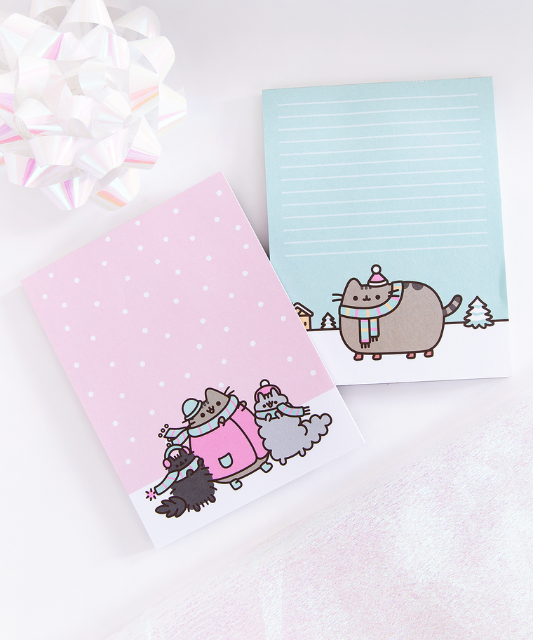 Pusheen & Family Winter Notepad