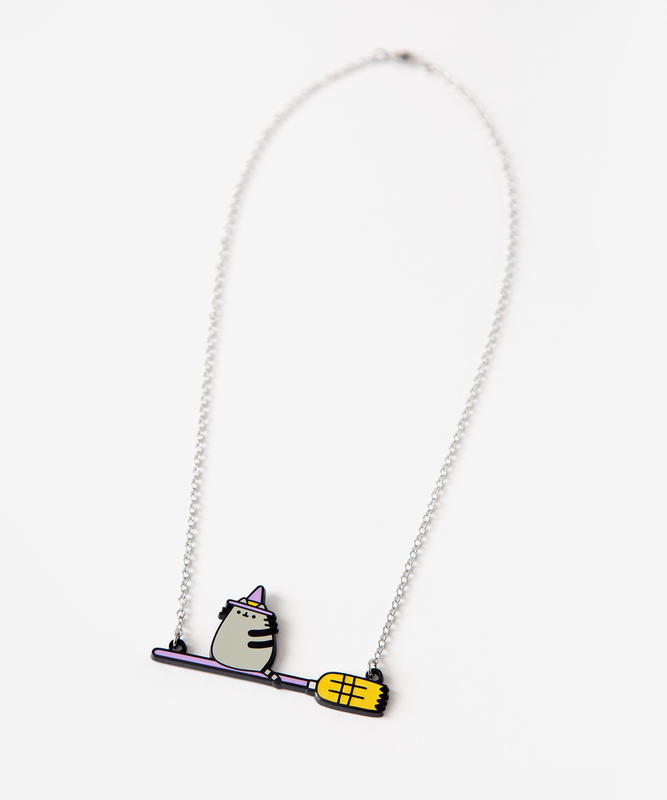 Witch Pusheen Necklace