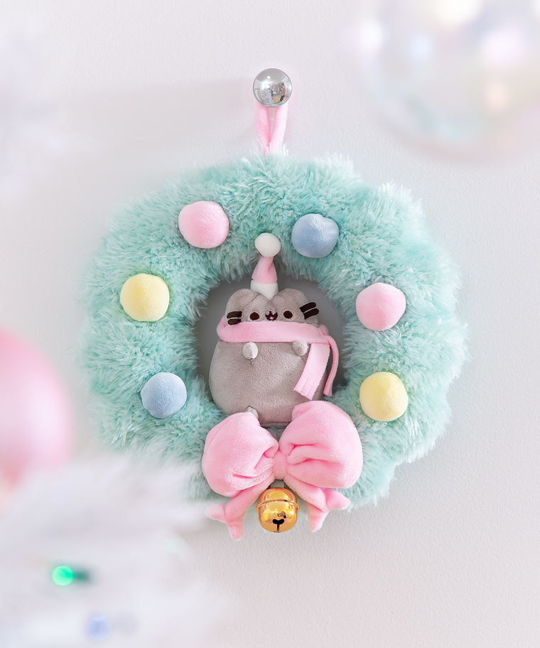Pusheen Hanging Wreath Plush