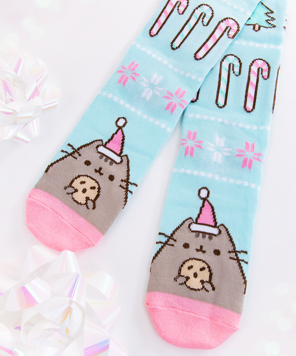 Holiday Pusheen Knee Socks