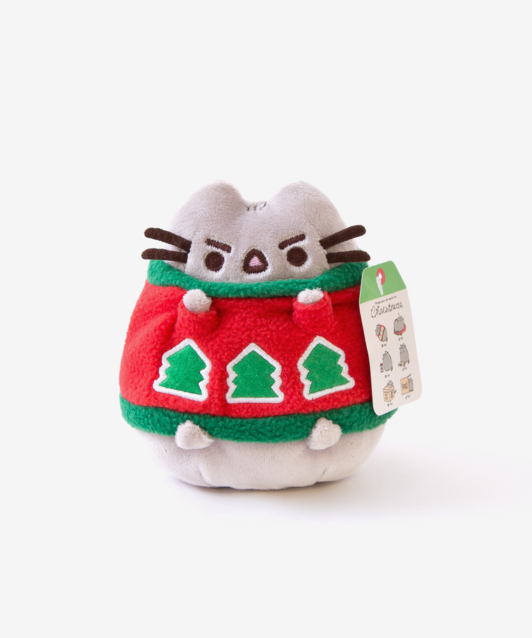 Mini Pusheen Holiday Sweater Plush