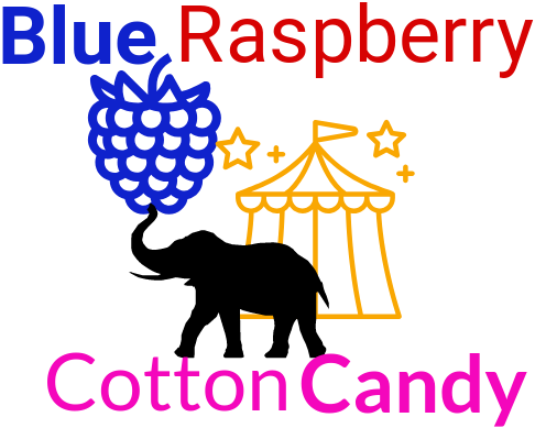 Blue Raspberry Cotton Candy  60ml,  Premium Quality Canadian Vape Juice - VapeCloudz.ca