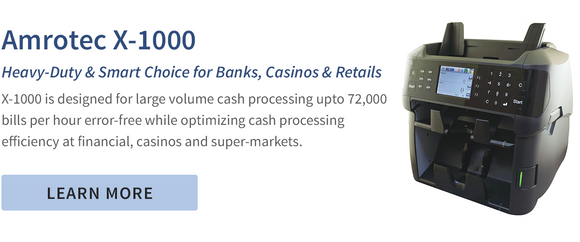Amrotec X-1000 Banks, Casinos & Retails