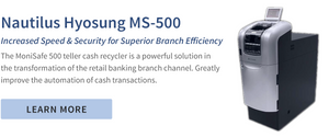 cash recyclers nautilus hyosung ms-500 for banks from srs systems inc