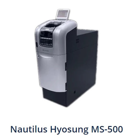 cash recycler nautilus hyosung ms-500 header