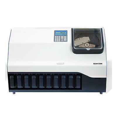 Scan Coin DTC Series Coin Counters for banks from srs systems inc