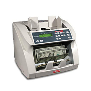Semacon S-1600 Series Currency Counters for banks from srs systems inc