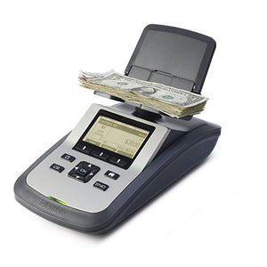 Tellermate TI-X R1000 Currency Counters for banks from srs systems inc