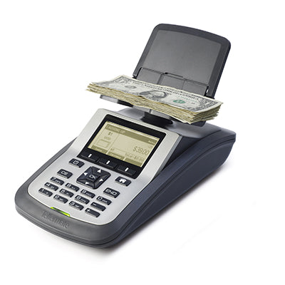 Tellermate TI-X R3500 Currency Counters for banks from srs systems inc