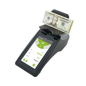 Tellermate Touch Counting Scale for banks from srs systems inc