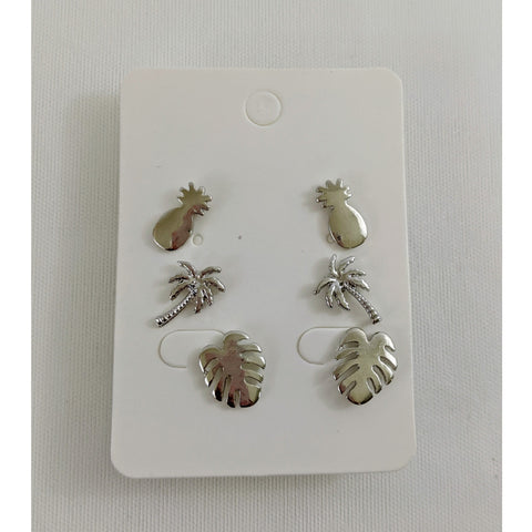 Accessories - Tropical Earring Stud Set