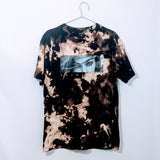Upcycled Primitive Acid Wash Graphic Tee (Size: M)