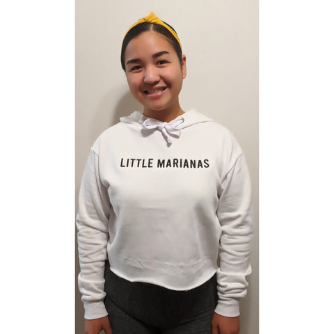 Little Marianas Cropped Hoodie (Made to Order)