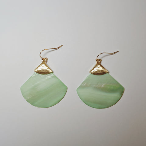 Accessories - Mint Shell Earring