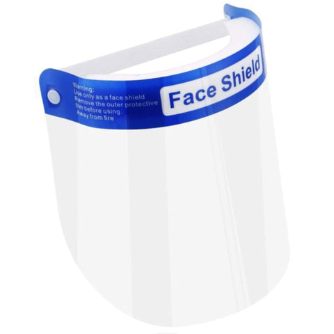 Reusable Plastic Adult Face Shield
