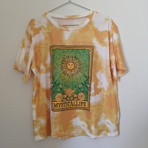 Vintage Graphic Tee Mystical Life (Size: L)