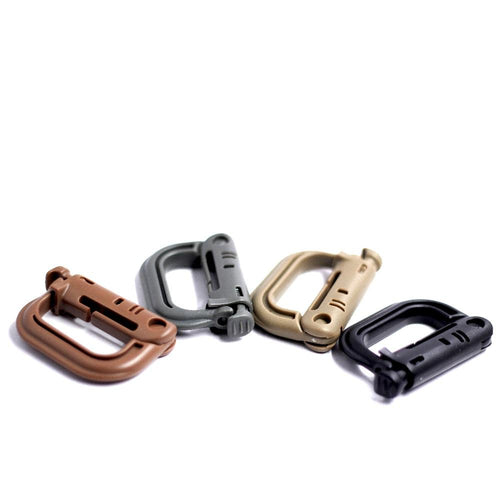 Molle D-ring Clip (2pcs)